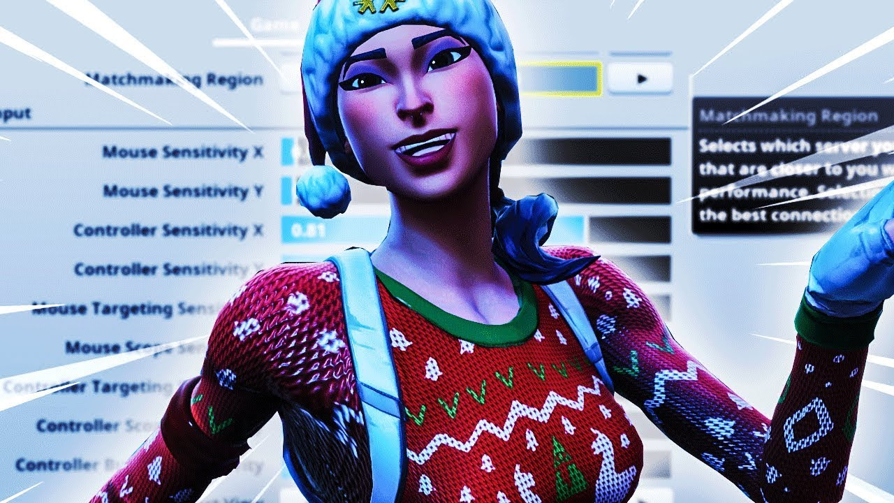 Here Are The Best Settings Sensitivity For Season 7 Fortnite Pc Console Youtube