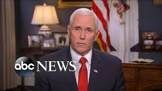 Vice President Mike Pence talks response to Iran l ABC News
