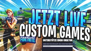 😱 FORTNITE LIVE + CUSTOM GAMES/SHOP STREAM LIVE ENGLISH 🔥NEW SKINS /ALTE SHOTGUN 💥TODAY THE 100