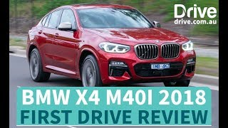 BMW X4 M40I 2018 First Drive Review | Drive.com.au