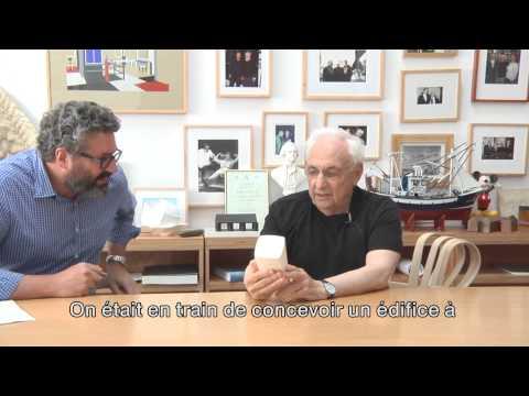 Frank Gehry talking with Greg Lynn