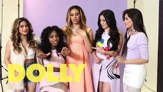 5 Quick Questions With Fifth Harmony at DOLLY HQ! | Celeb Bites