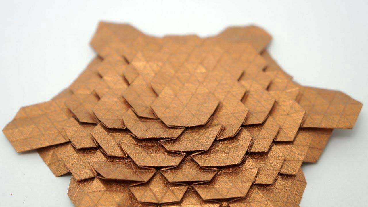 Origami Spread Hex Tessellation Eric Gjerde
