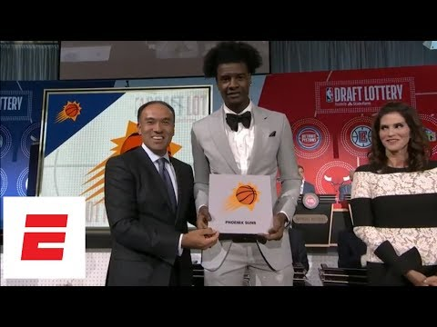 [FULL] 2018 NBA Draft Lottery: Phoenix Suns Get No. 1 Pick For First Time Ever | ESPN
