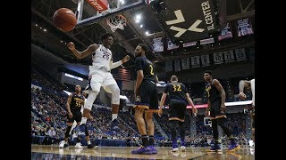 American Men's Basketball Highlights - UConn 76, ECU 52