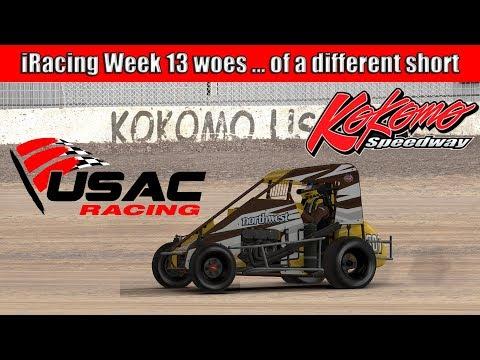 Week 13 Midgets at the new Kokomo Speedway