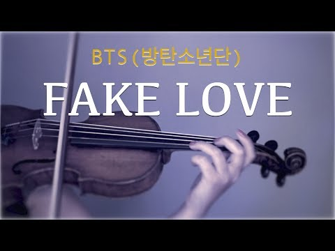 BTS (방탄소년단) - Fake Love For Violin And Piano (COVER)