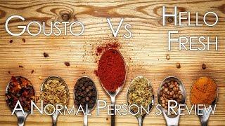 Gousto vs Hello Fresh: A Normal Person