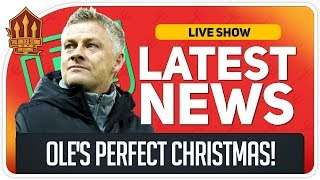 TOP 4 FOR CHRISTMAS! Man Utd News Now