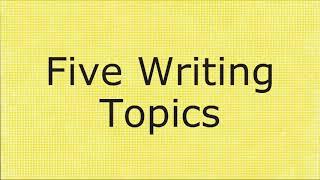 Robert Wadlow: Five Writing Prompts