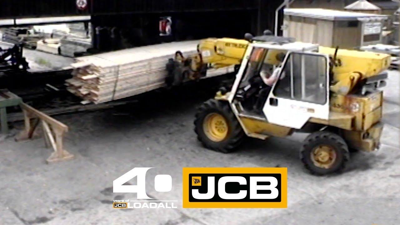 JCB 530-4 TH in Germany - Celebrating 40 Years of Loadall