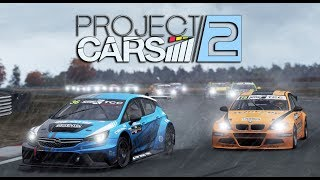 Project CARS 2 WIP | Autumn Sunset Thunderstorm Night | Touring Car Race @ Zolder