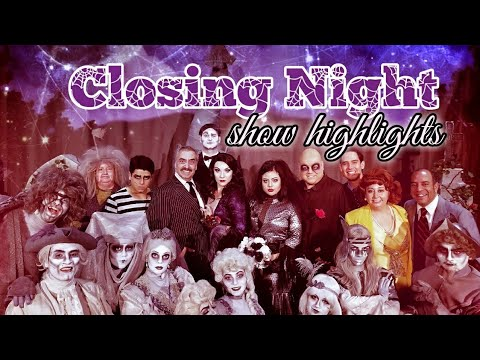 WHEN YOUR AN ADDAMS-Some Highlights from our last show