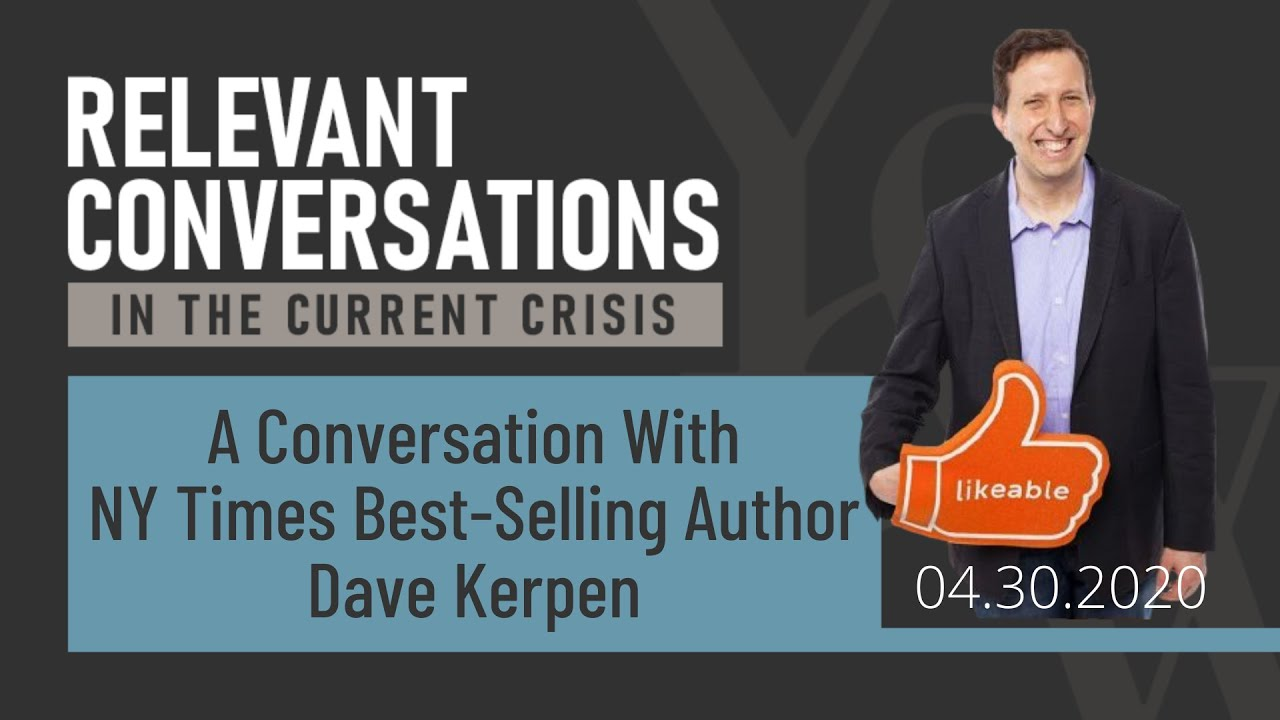 (WEBCAST): A Conversation with NY Times Best-Selling Author Dave Kerpen