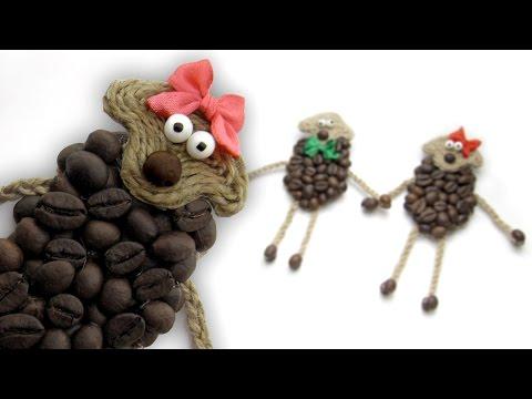 DIY Овечка СВОИМИ РУКАМИ / Coffee Sheep DIY / Мастер класс 🐞 Afinka