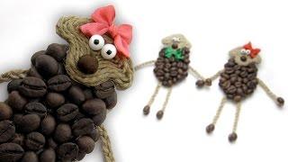 DIY Овечка СВОИМИ РУКАМИ / Coffee Sheep DIY / Мастер класс 🐞 Afinka(Мастер-класс: Как сделать овечку символ года своими руками Tutorial: How to make a Coffee Sheep Шаблон → http://goo.gl/paieXz ← PATTERN..., 2014-12-05T12:41:14.000Z)