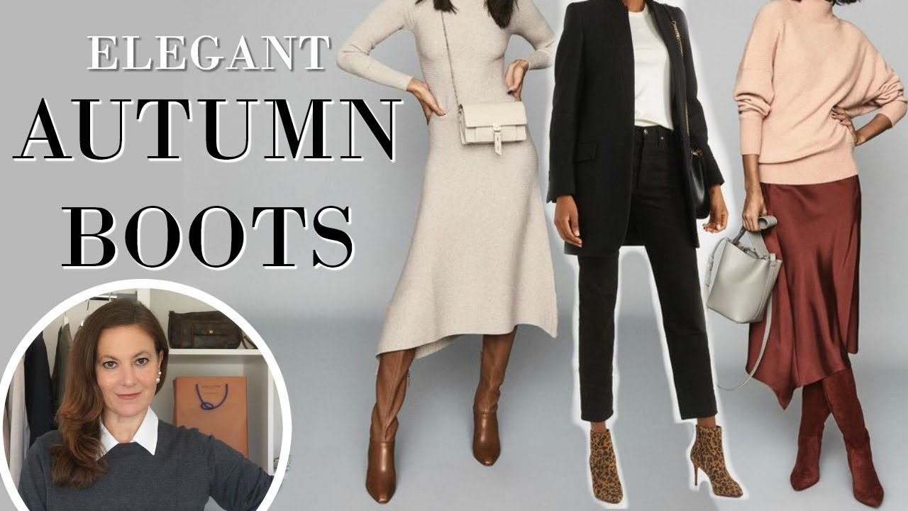 [VIDEO] - Must have boots for Autumn Fall & Winter & ways to wear them ELEGANTLY | Fashion Over 40 1