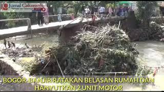Banjir di Nanggewer Bogor, CEO Radar Bogor dan Ketua MPB Kunjungi Korban