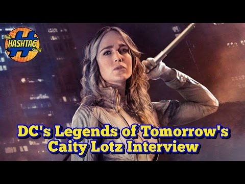 Caity Lotz on Legends of Tomorrow and Supergirl | Saturn Awards 2016 | That Hashtag Show