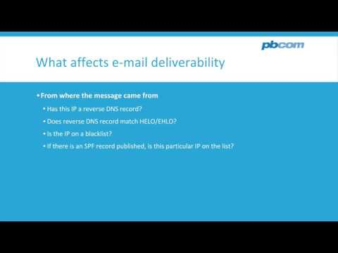 Holy Trinity of e-mail delivery - SPF, DKIM and DMARC explained