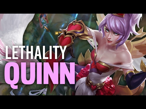 Imaqtpie - LETHALITY QUINN IS ACTUALLY GOOD?  ft. IWDominate