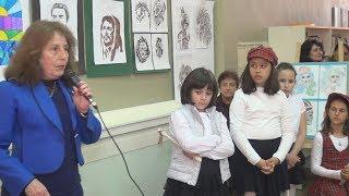 """Карловското училище """"Христо Проданов"""" представи изложба, посветена на неговия патрон (видео)"""