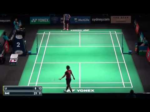 QF - Aussie Open 2015 - Li Michelle vs Bae Yeon Ju (Sports)