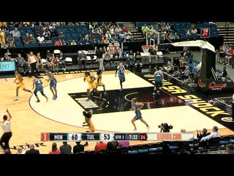 Game Recap: Minnesota Lynx vs Tulsa Shock
