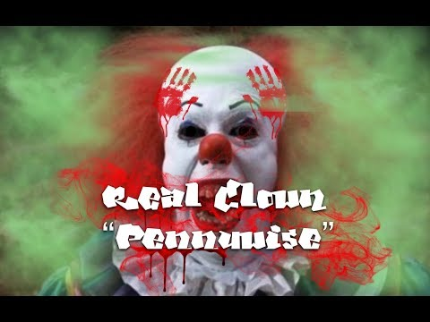 Real Clown ( Pennywise ) Event in Cinema 7/9 2017 ( promo )