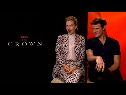 THE CROWN : Matt Smith & Vanessa Kirby