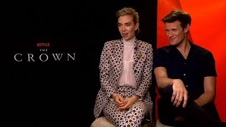 THE CROWN Interview: Matt Smith & Vanessa Kirby