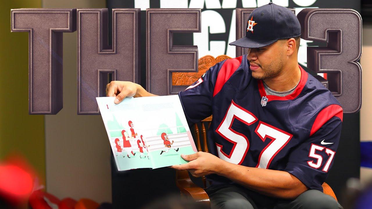 Houston Texans' Brennan Scarlett inspires kids to love reading || The 53