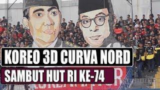 Download Mp3 Curva Nord Berikan Koreo Terbaik Untuk Indonesia Di Hut Ri Ke-74