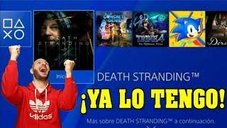 ¡¡¡YA TENGO DEATH STRANDING ESTAD ATENTOS A MI ANÁLISIS!!! - Sasel - prensa - maletines - español