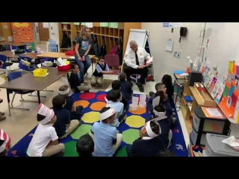 1st Annual Dr. Seuss Read-A-Thon at Milton Bradley School