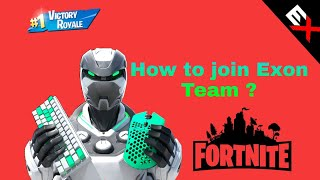 How to join Exon Team 🏆