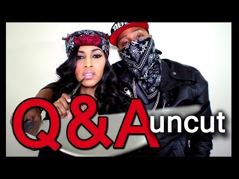 YOU ASKED WE ANSWERED! Q&A REAL AND UNCUT!! (ADULT LANGUAGE) | CHINACANDYCOUTURE & HUSBAND