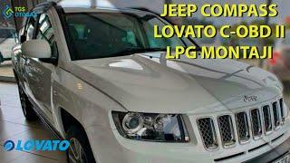 Jeep Compass Lovato C-OBD II Montajı