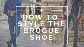 Popular Videos - Brogue shoe