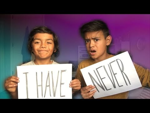 Thumbnail: NEVER HAVE I EVER WITH LITTLE BROTHER!