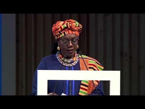 PP-18: H.E. Ms Ursula Owusu-Ekuful, Minister of Communications, Ghana