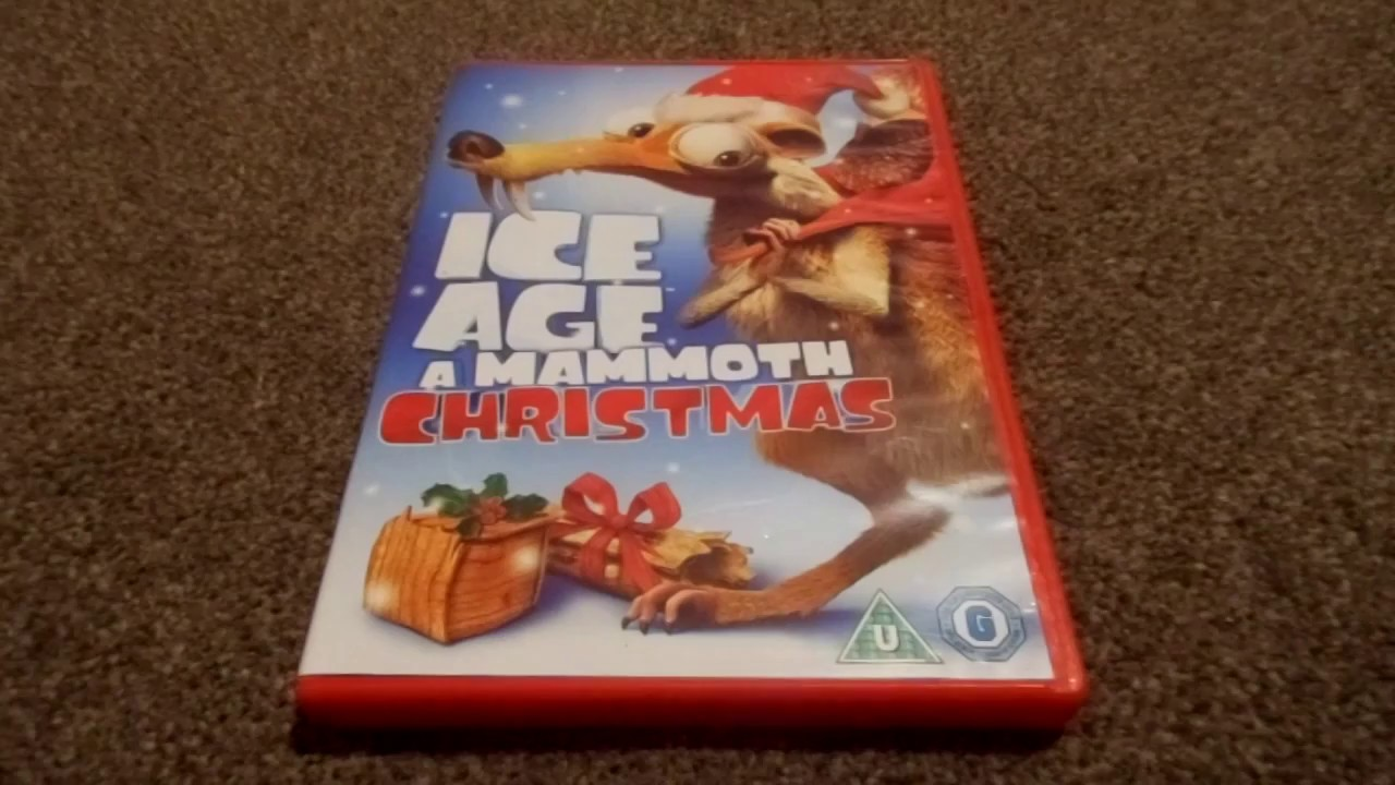 ice age a mammoth christmas newer version uk dvd unboxing youtube. Black Bedroom Furniture Sets. Home Design Ideas