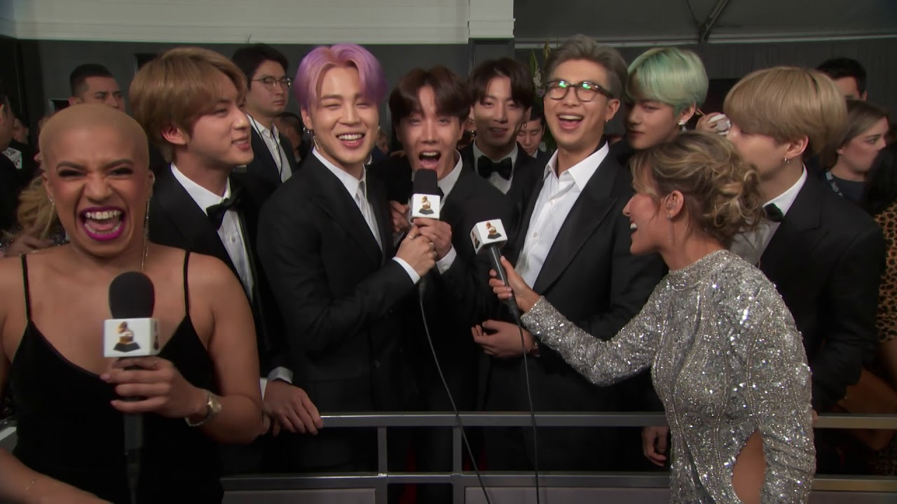 5 Ways BTS Won Our Hearts At The 2019 GRAMMYs | GRAMMY com