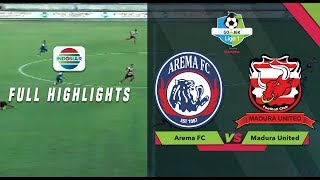 AREMA (2) vs MADURA UNITED (0) - Full Highlight | Go-Jek Liga 1 bersama Bukalapak