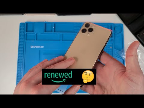 "Does Amazon's "" Renewed "" iPhone 11 Pro Use Original Parts?"
