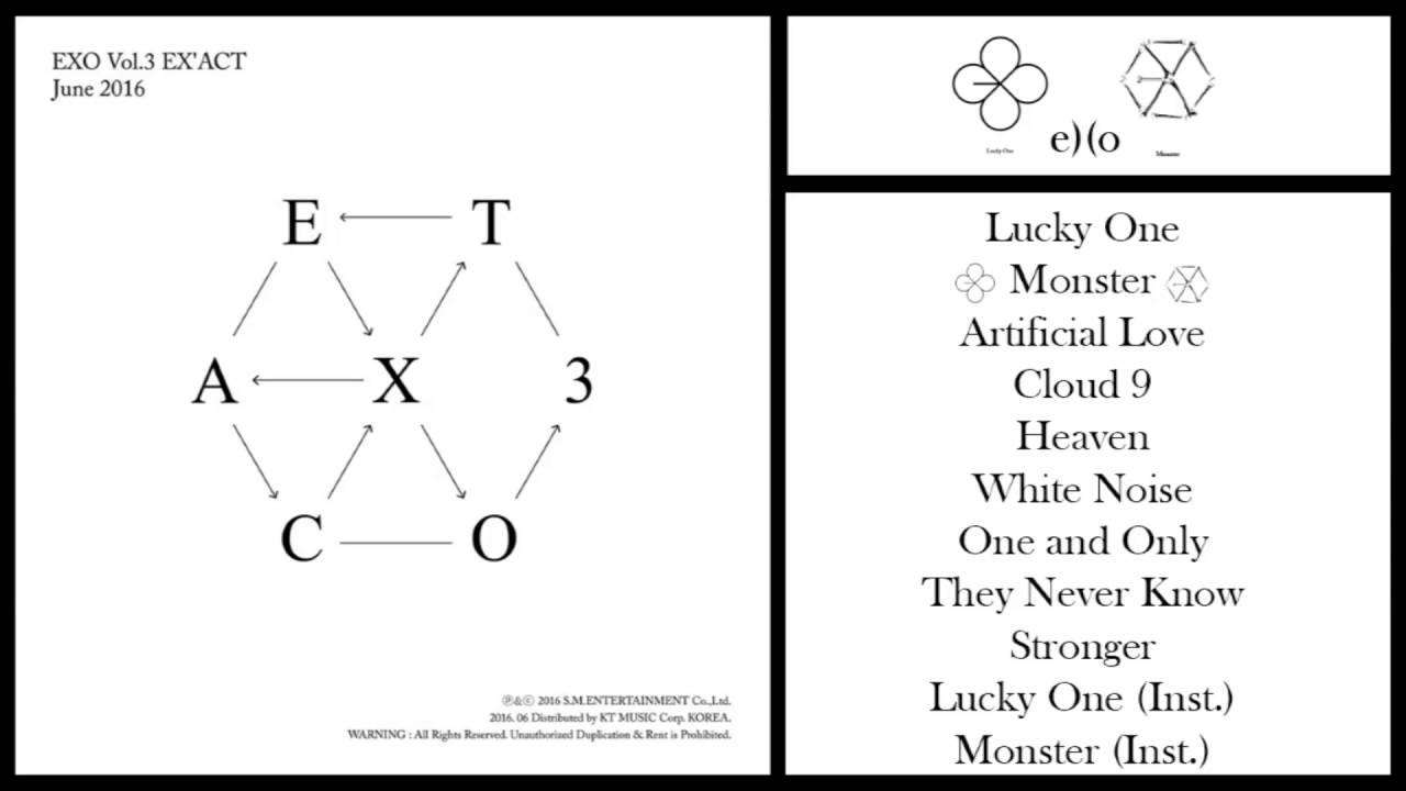 [3rd Album] EXO – EX`ACT (Korean + Chinese Ver.) MP3