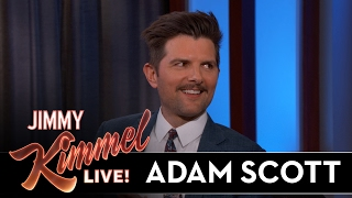 Adam Scott's Son Stole From Jimmy Kimmel