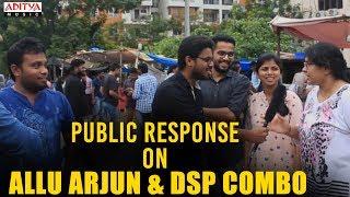 Genuine Public Response on Allu Arjun & DSP Combo | Dj Songs