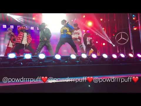 FANCAM - BTS - Blood Sweat & Tears - Jimmy Kimmel Mini Concert - 171115