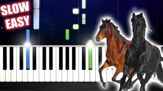 Lil Nas X Old Town Road feat. Billy Ray Cyrus - SLOW EASY Piano Tutorial by PlutaX.mp3